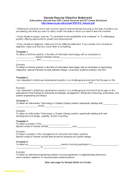 Resume Profile Statement Example Example Objective Resume Examples