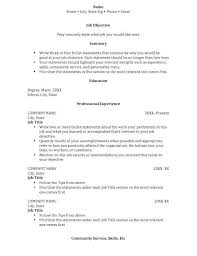 Sample Of Perfect Resume Mwb Online Co