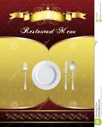 Design A Menu Free Menu Card Design Stock Vector Illustration Of Party 17436666