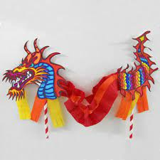 Free printable chinese dragon coloring pages for kids. Chinese Dragon Puppet Kids Craft With Printable Dragon Template