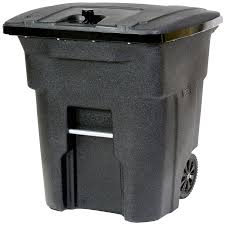 toter outdoor trash can 64 gallon blackstone plastic outdoor wheeled trash can with lid