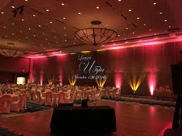 up lighting ideas. Perfect Uplighting And Monogram. Cranberry Or Maroon Gold Wedding Up Lighting Ideas