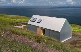 self built tinhouse is a contemporary take on isle of skye vernacular design