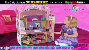 barbie games decorate barbie doll house game play barbie games