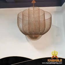 china restaurant luxury iron woven mesh