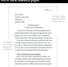Example Of Essay In Mla Format Mla Format For Essays Example Administrativelawjudge Info