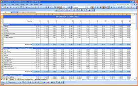 Best Monthly Expenses Spreadsheet - Samplebusinessresume.com ...