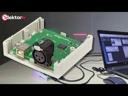 Compact <b>USB to DMX</b> Converter with full electrical isolation - YouTube