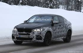 BMW X6 M Spy Shots