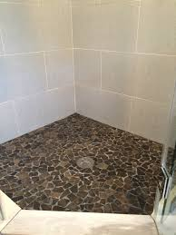 Glazed Grey Mosaic Tile Pebble Tile Shop - Glazed bathroom tile
