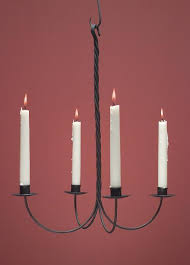 hammerworks hand forged antique wrought iron candle chandeliers wich109
