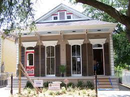 The New Orleans Shotgun House House Interiors Colors And The Ojays - Exterior doors new orleans