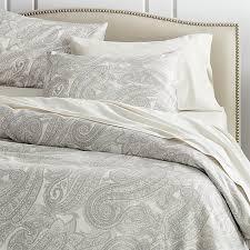 mariella cream grey duvet covers and pillow shams