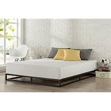 modern king bed frame. Zinus Modern Studio 6 Inch Platforma Low Profile Bed Frame/Mattress Foundation/Boxspring Optional/Wood Slat Support, King Frame ,