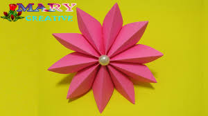 How To Make A Paper Ribbon Flower Mary Creative Origami 17 How To Make Easy Ribbon Flower Youtube