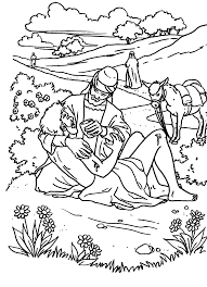 De Barmhartige Samaritaan Kleurplaat De Barmhartige Samaritaan 6