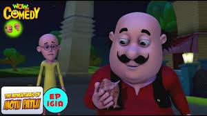 alien shankh motu patlu in hindi 3d animated cartoon series for kids as on nick