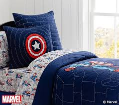 Captain America Quilt Pottery Barn Kids