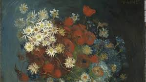 still life with meadow flowers and roses a painting dismissed for
