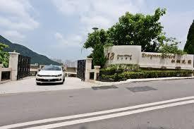 entrance to development