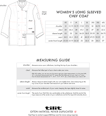 Womens Long Sleeved Chef Coat Sew Coat Women Jackets