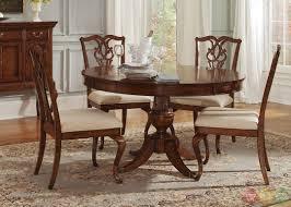 ansley manor round formal dining room furniture set