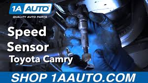 How to Replace Install Speed Sensor 1998 Toyota Camry - YouTube