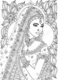 Top 4 Indian Coloring Pages