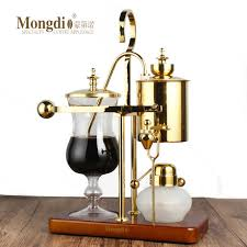 Medical silicone pot of plug, to insure the water not easy spill out. Mongdio Royal Belgian Pot Household Stainless Steel Siphon Coffee Maker Filter Pot Coffee Pot Set