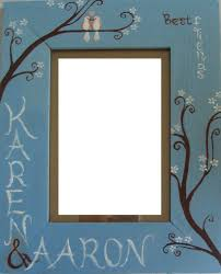 picture frame painting ideas lovely painting picture frames ideas mafiamedia