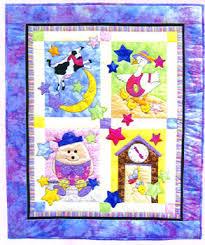 Fairy Tale Baby Quilt - applique pattern by Bobbie G. Designs &  Adamdwight.com