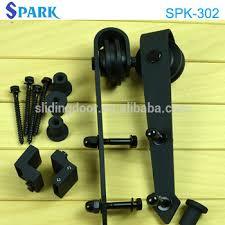 heavy duty wrought iron sliding door wheels for interior barn door on alibaba express