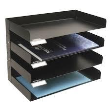 italplast metal 4 tier desk tray