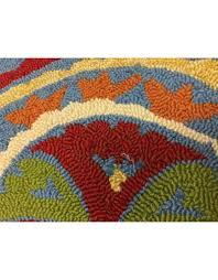 fair winds denim blue medallion area rug