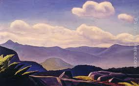 rockwell kent mountain landscape painting anysize 50 off