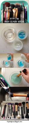 quick simple brush cleaning routine
