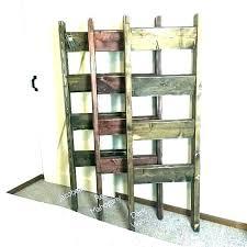 ladder shelf for blankets blanket rack decorative wooden quilt display