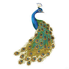 Peacock Colors For Home Swnpa Peacock Embroidery Design - Home machine embroidery designs