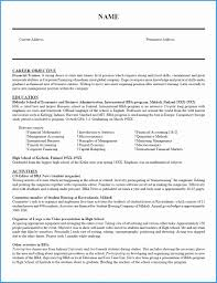 Free Resume Templates Open Office Writer Fresh 6 Curriculum Vitae