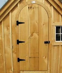 wooden shed doors wooden arched door cottage arched doorway is handmade in diy arched door