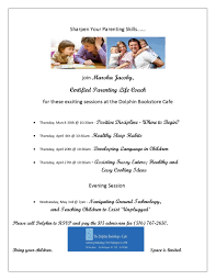 parenting skill session positive discipline where to begin dolphin flier jpeg