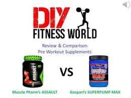 pre workout supplement ault vs super pump max review