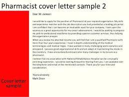Sample Retail Pharmacist Cover Letter Cover Letter Template For