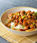 asian chicken cashew dish