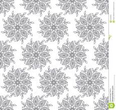 Fancy Wallpaper Seamless Silver Fancy Leaves Wallpaper Stock Photography Image