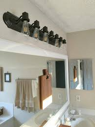 bathroom remarkable bathroom lighting ideas. edison bulb vanity light surprising ideas for updating bathroom fixtures dining room remarkable lighting