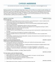 Medical Collector Resume Sample | Collector Resumes | Livecareer