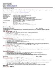 Software Applications List For Resume Free Resume Example And