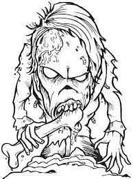 horror coloring pages creepy coloring pages scary zombie coloring pages creepy zombie coloring pages beauty