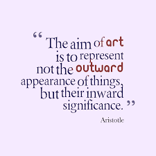 Aristotle Quote About Art